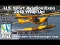 U S  Sport Aviation Expo Round Up 2018 Sebring Florida.