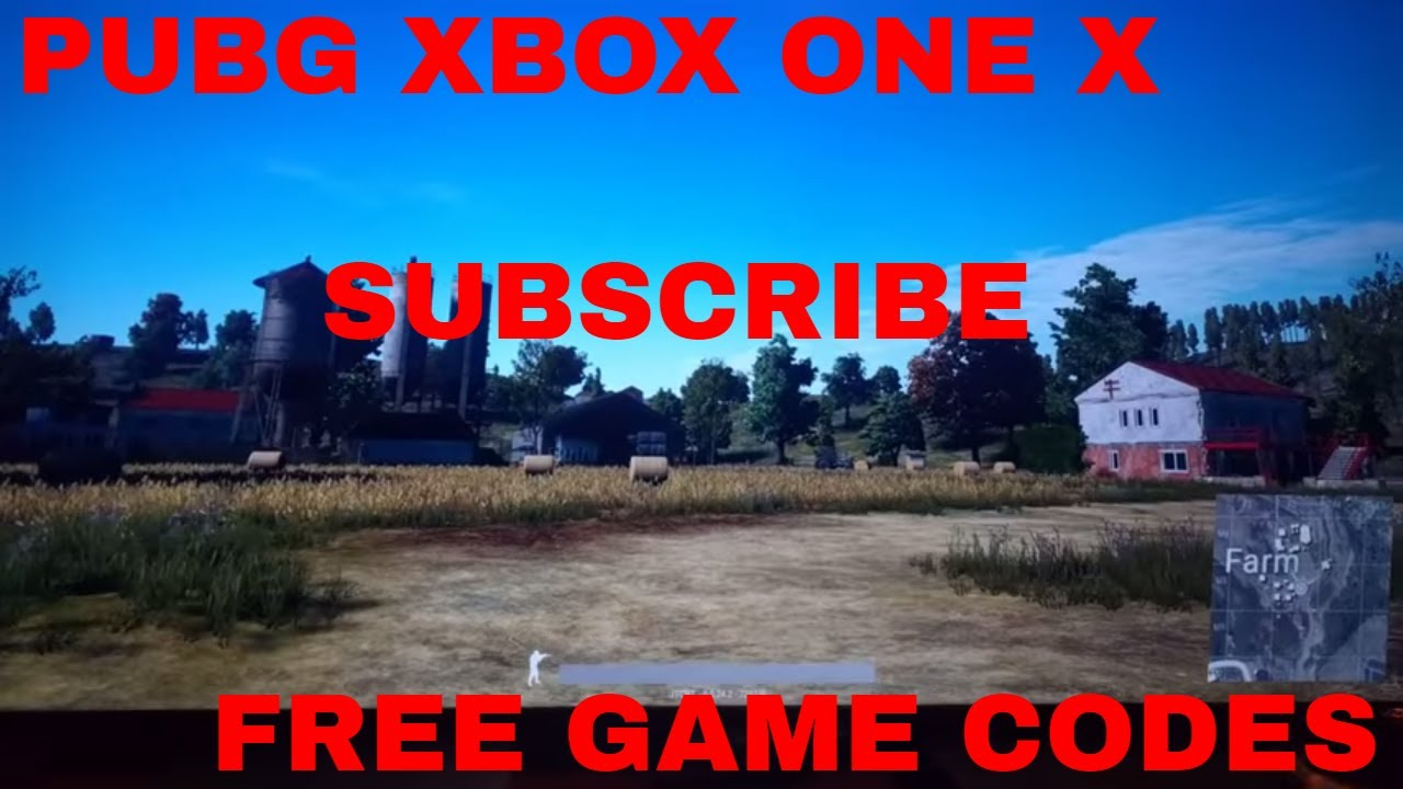 Pubg Xbox One X Early Release Free Game Code Youtube