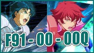 【EXVSFB】Full Boost session with dem boyz【F91】【00 Gundam】【Quanta】