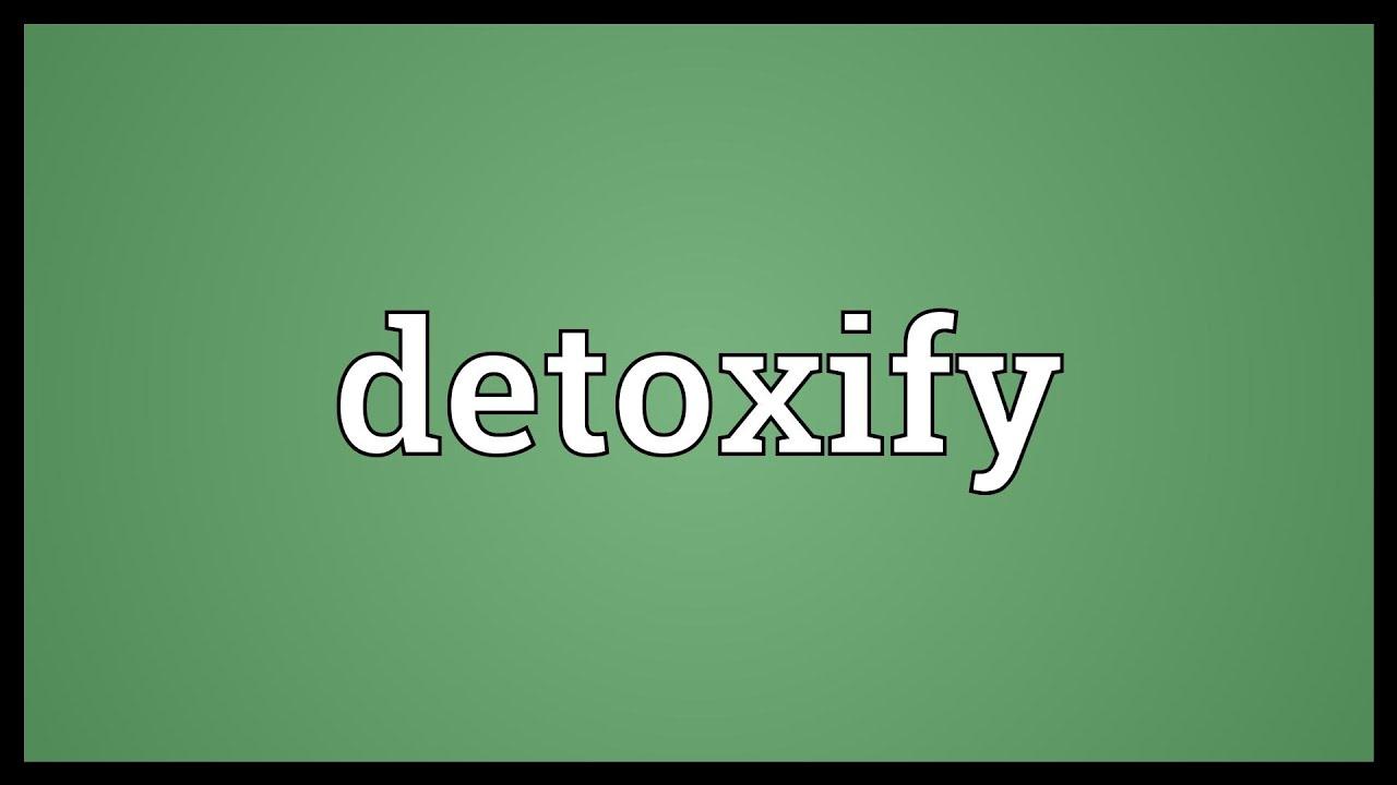 Detoxifiere ten - Detoxifiere ten