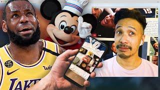 LeBron James Is Definitely Not Eating Disney World's Bubble Food | NBA Desktop | The Ringer