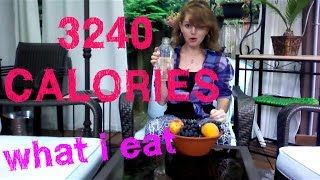 3240 Calories and STILL LOSING WEIGHT!!! 801010 High Carb Raw Vegan WHAT I EAT Vlog by Lj Jackfruit