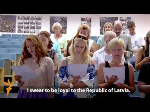 For Russians In Latvia, Citizenship Is Tricky, But Sights Are Set On Europe
