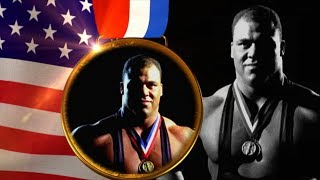 "Kurt Angle's WWE 2K18 Titantron Entrance Video feat. ""Medal"" Theme [HD]"