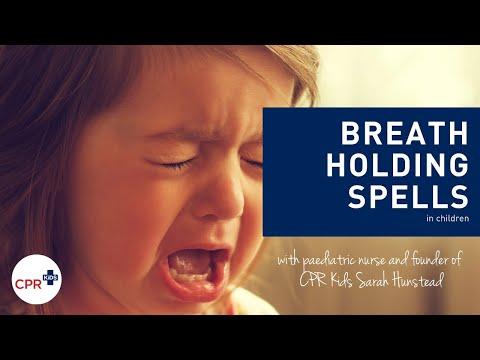 Breath holding episodes in children