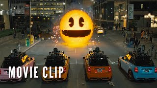 PIXELS: Official Pac-Man Clip - Happy 35th Birthday!