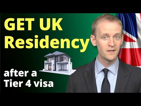 How To Get UK Residency After A Tier 4 Visa 🧐 Studying In The UK To UK Citizenship ✅️(in 2020)