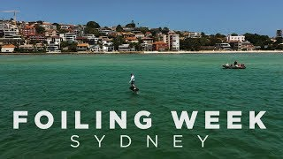 Foiling Week Sydney December 2018 - Final highlights