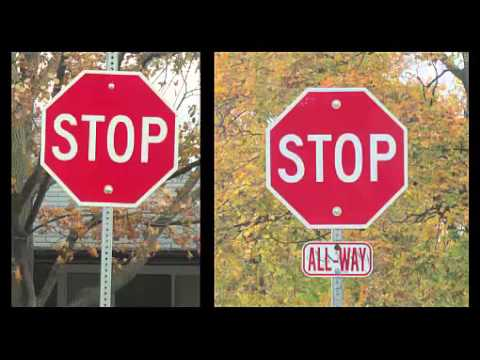 2 types of STOP SIGNS