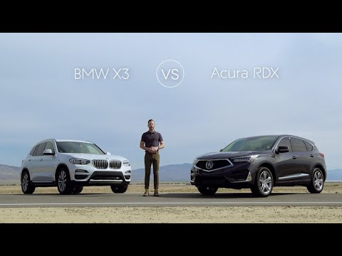 2019 BMW X3 Road Test & Review vs. The 2019 Acura RDX