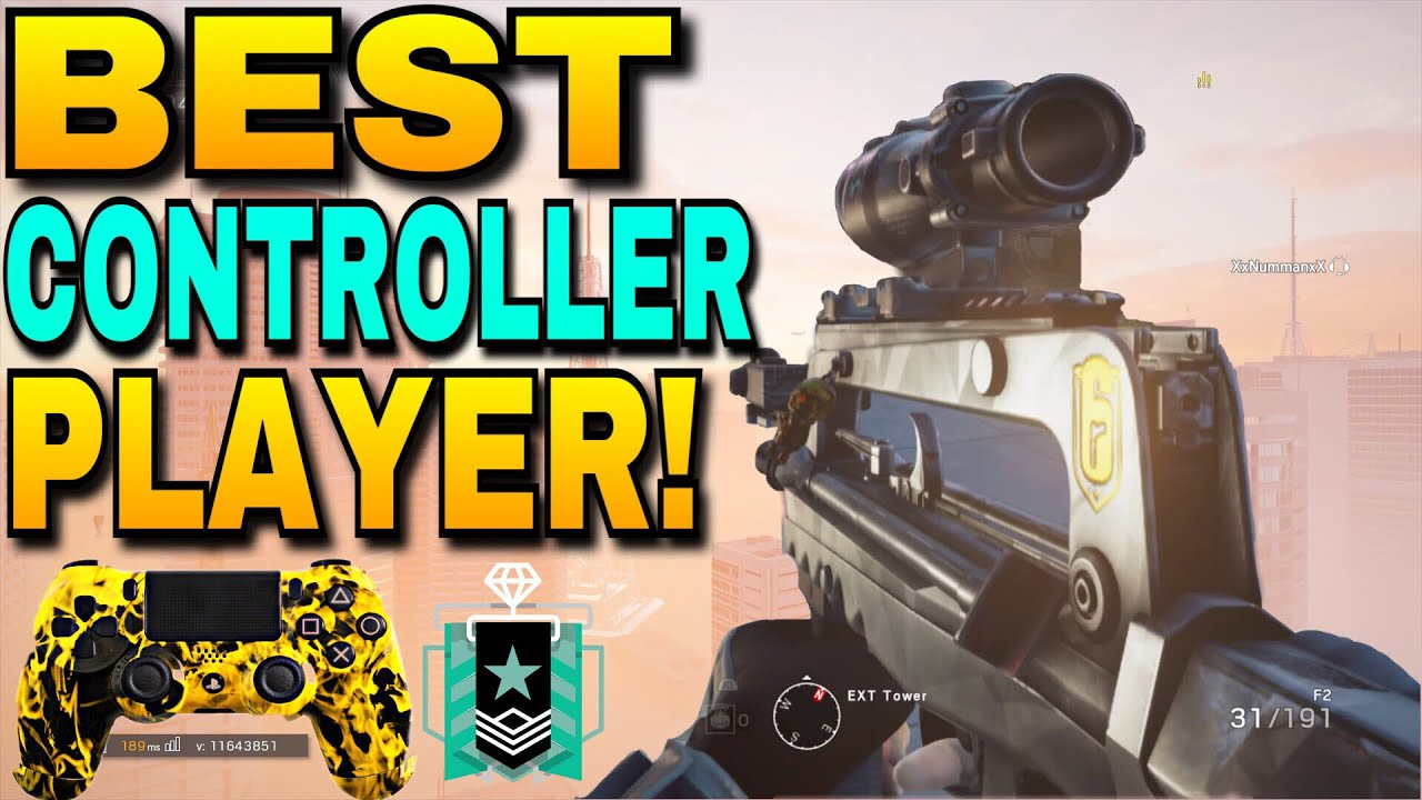 BEST CONTROLLER PLAYER! | Best Sensitivity on console | The new Beaulo? |  Rainbow Six Siege