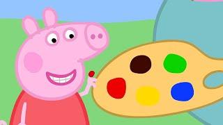 小猪佩奇 | 精选合集 | 1小时 | 小小艺术家🎨 | 粉红猪小妹|Peppa Pig Chinese |动画