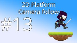 13. Unity 5 tutorial for beginners: 2D Platformer - Camera follow