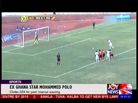 Ex-Ghana Star Mohammed Polo