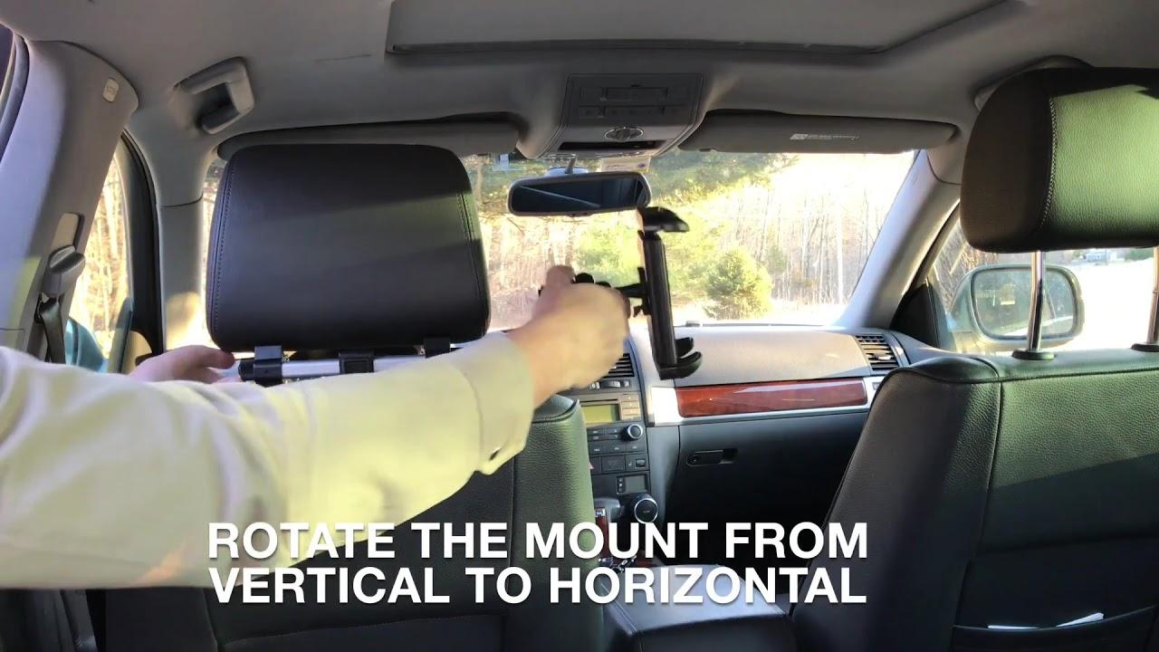 Car Seat Headrest IPad Tablet Mount Macally HRMOUNTPRO