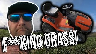 👀 BEHIND THE SCENES - CUTTING THE DRIFTLAND GRASS 👀