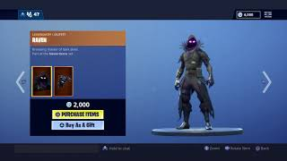 New Fortnite Item Shop | RAVAGE & RAVEN SKIN | HOWL & SQUAT KICK EMOTE | [November 27th, 2018]