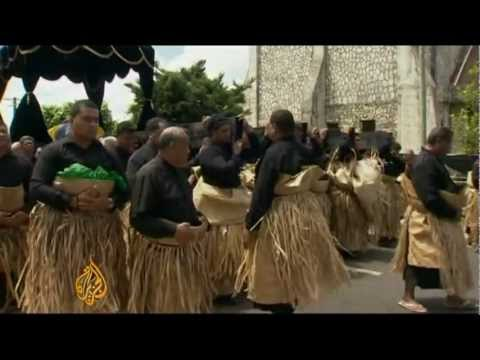 Tonga holds funeral of King George