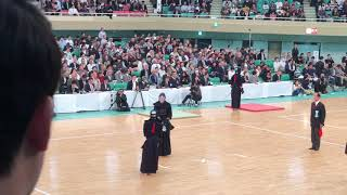 65th All Japan Kendo Championships 2017 - 勝見 vs 上登