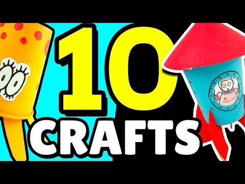 10 DIY Projects for Making Toys | Easy Craft Ideas for Kids
