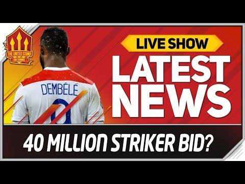 Solskjaer's 40 Million Moussa Dembele Bid? Man Utd Transfer News