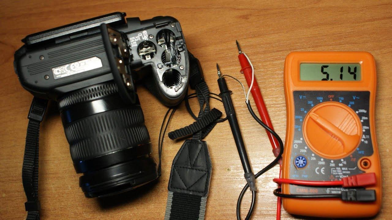 Универсальный блок питания для любой фото/видео камеры и ...