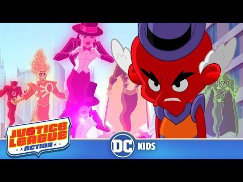Justice League Action | Super Mix Up | DC Kids