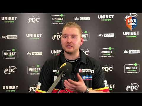 """Dimitri van den Bergh: """"I need a win against Jonny, there's no way back, I'll need the crowd"""""""