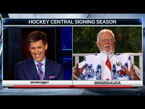 Don Cherry: Somebody must've offered John Tavares stupid money