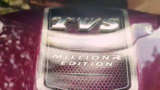 tvs jupiter 2016 disc brake varient excellent colour scheme non a b s top model