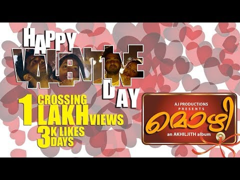 Oru Adar love proposal @ Valentines Day - Mozhi Malayalam Music Album Song Directed by Akhiljith