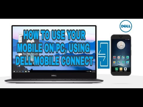 HOw to use Dell mobile connect ..
