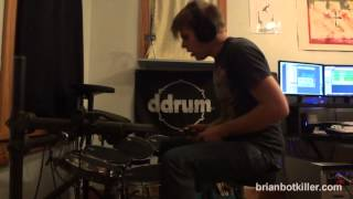 The Prodigy - OMEN - Drum cover by brian botkiller