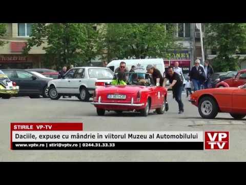 Daciile, Expuse Cu Mândrie în Viitorul Muzeu Al Automobilului