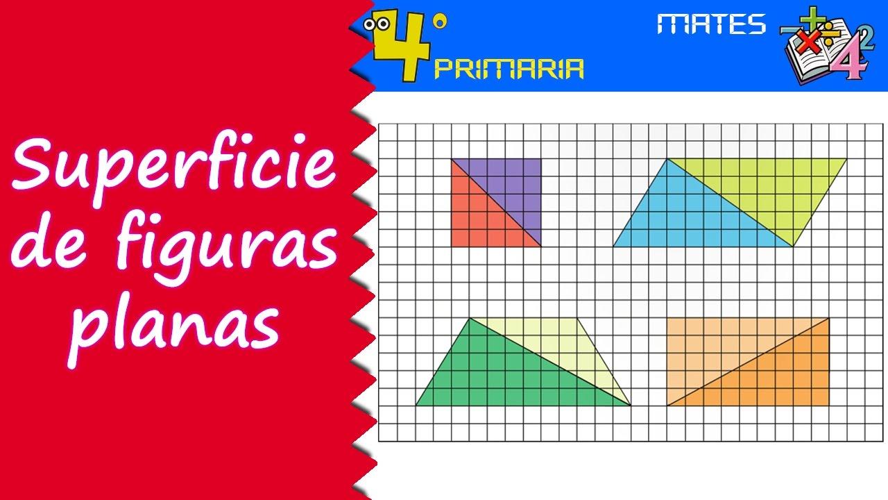 Matemáticas 4º Primaria Tema 8 Superficie De Las Figuras Planas