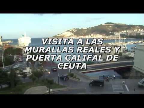 Visita a las Murallas Reales y Puerta Califal de Ceuta.