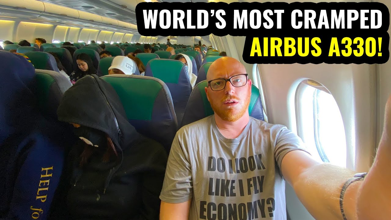 Download WORLD'S MOST CRAMPED A330! 10 Hours on Cebu Pacific!