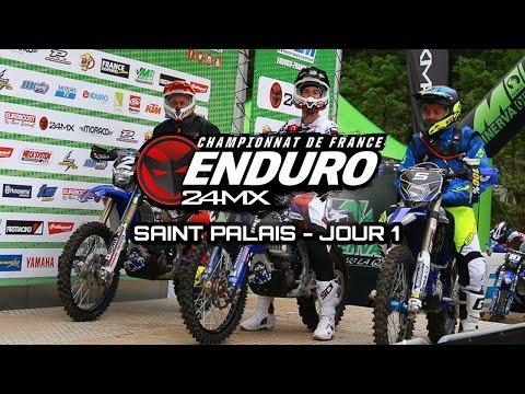 Enduro - Saint-Palais : Resumé samedi
