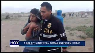 Víctor Larco: A balazos intentan tomar predio en litigio