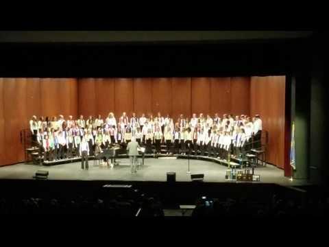 Owasso 7th Grade Center Choir Performance