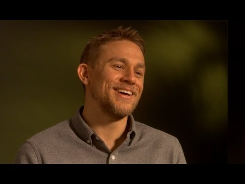 """Charlie Hunnam is hungry for adventure - """"The Lost City of Z"""" interview EXCLUSIVE"""