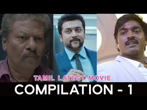 Thumbnail: Tamil Latest Movie compilation - 1 | Pa Paandi | Singam 3 | Kavan