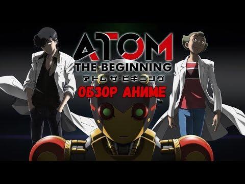 Обзор аниме Атом: Начало / Atom: The Beginning