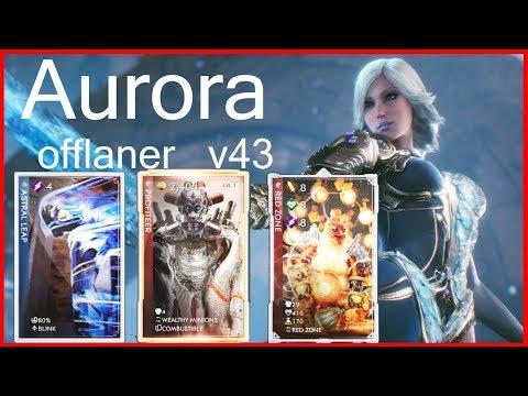 Aurora offlaner Paragon v43 Red Zone