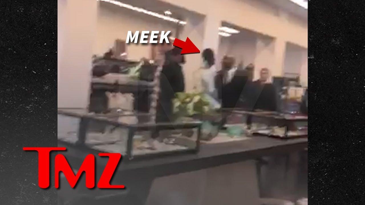 Meek Mill Gets Into Shouting Match With Ex Nicki Minaj's Husband | TMZ