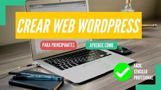 Cómo Crear una PÁGINA WEB de WordPress 2020 ▶︎ Para Principiantes ◀︎