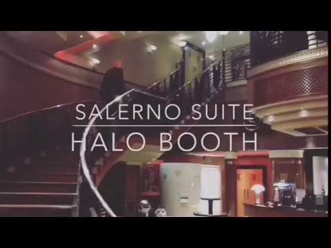 Salerno Suite Photo booth at Ingliston country club Glasgow
