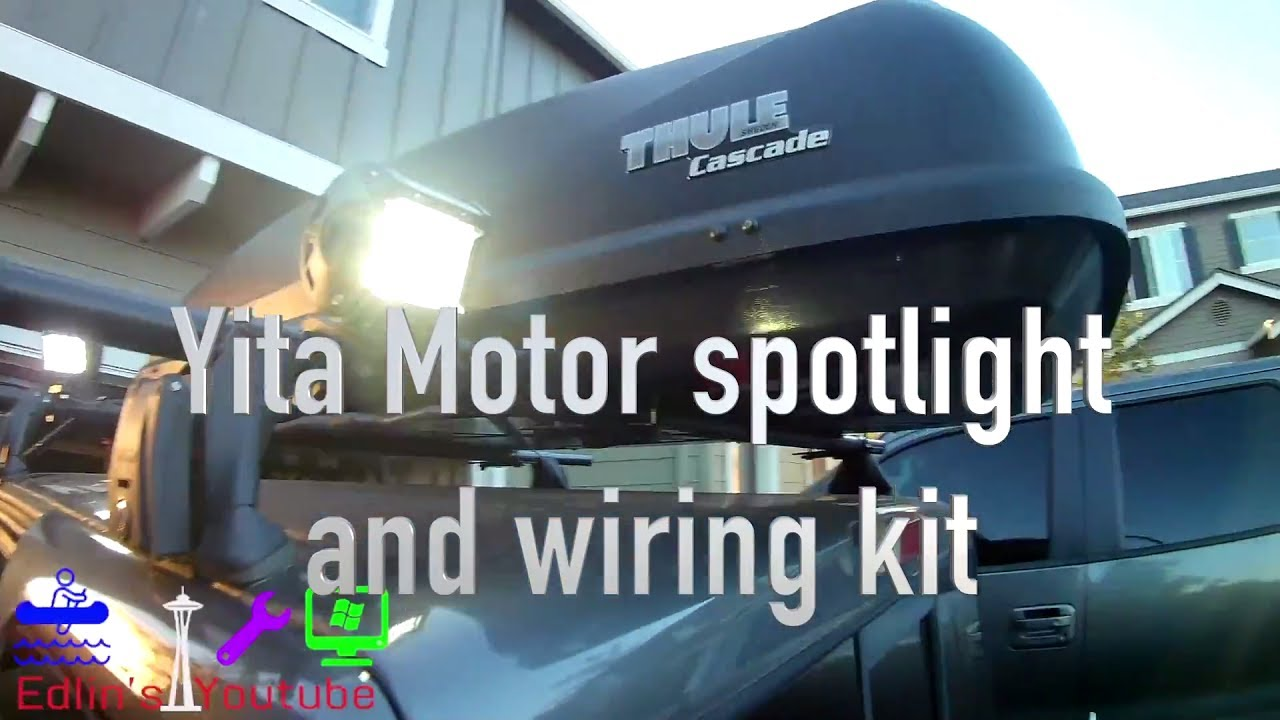 diy install and wiring roof rack led lights under $50 total Xoverland Wiring Roof Rack