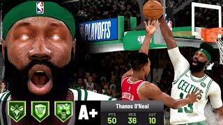 MULTIPLE GRAB BLOCKS IN PLAYOFF GAME 2! NBA 2K20 My Career Gameplay Best Paint Beast Build
