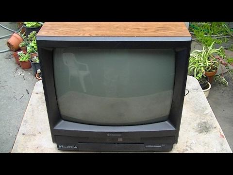 Samsung 1990 Color Television Diagnosis